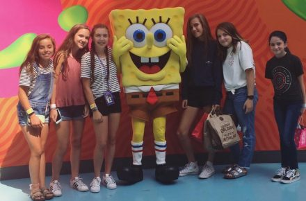 Mary-Grace Turns Twelve at Nickelodeon Universe®