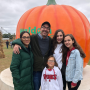 pumpkin heads at the pumpkin patch _ Th Geno Project
